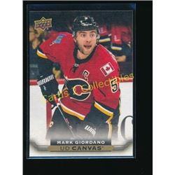 2015-16 Upper Deck Canvas #C132 Mark Giordano