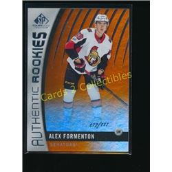 17-18 SP Game Used Orange RC Alex Formenton