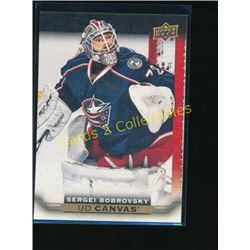 15-16 Upper Deck Canvas #C145 Sergei Bobrovsky