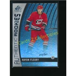 2017-18 SP Game Used Rainbow #125 Haydn Fleury