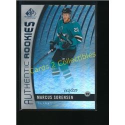 2017-18 SP Game Used Rainbow #103 Marcus Sorensen