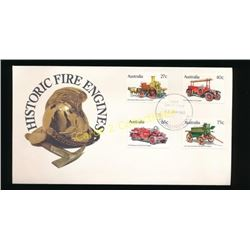 Australia Historic Fire Engines 1st Day Issue