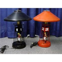 Johnnie Walker Red and Black Lamps Buoy Advertising