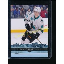14-15 Upper Deck #240 Chris Tierney YG RC