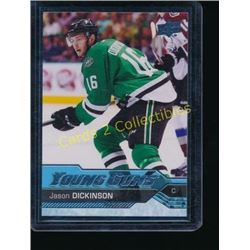 16-17 Upper Deck #497 Jason Dickinson YG RC
