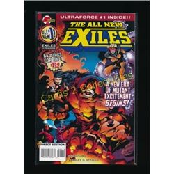 Malibu Comics The All New Exiles #1