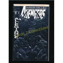 Marvel Avengers #369 Embossed Silver Foil Cover