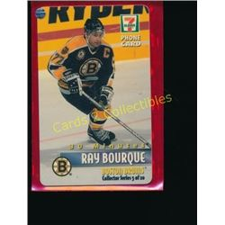 Ray Bourque 7-11 Collector Phone Card