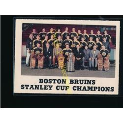 70-71 OPC #232 Boston Bruins Stanley Cup