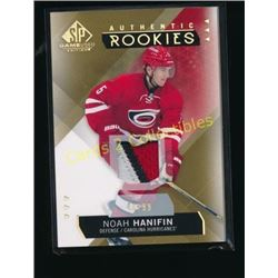 15-16 SP Game Used Gold Jersey Noah Hanifin