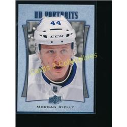16-17 Upper Deck UD Portraits #P37 Morgan Rielly