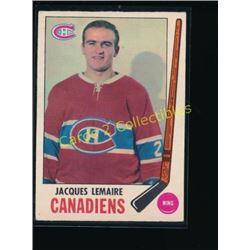 1969-70 O-Pee-Chee #8 Jacques Lemaire