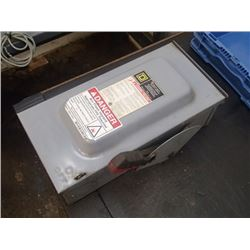 Square D, 60A, 600VAC Heavy Duty Safety Switch, CAT: H362RB