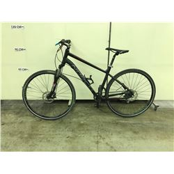BLACK NORCO STORM FRONT 8 SPEED FRONT SUSPENSION FULL DISC BRAKE MOUNTAIN BIKE