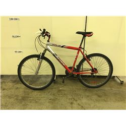 RED SUPERCYCLE XTI-21  21 SPEED FRONT SUSPENSION MOUNTAIN BIKE