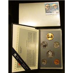1996 Royal Canadian Mint Specimen Set.