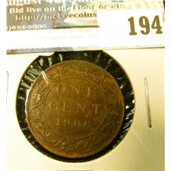 1906 Canada Large Cent. EF.