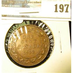 1912 Canada Large Cent. EF.