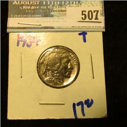 HIGH GRADE 1934 P BUFFALO NICKEL
