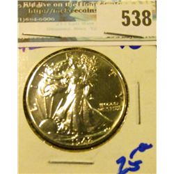 HIGH GRADE 1942 WALKING LIBERTY HALF DOLLAR