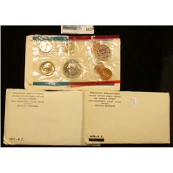 1969, 1971, AND 1972 MINT SETS