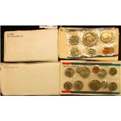 1977, 1978, 1979, AND 1980 MINT SETS