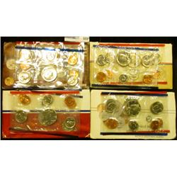 1985, 1986, 1987, AND 1988 MINT SETS