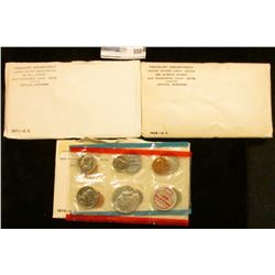 1968, 1970, AND 1971 MINT SETS.  THE 1970 MINT SET HAS THE 1970-D KENNEDY HALF DOLLAR.  THIS COIN BO