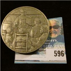 MEDAL COMMEMORATING THE LAW THAT ESTABLISHED THE PUBLIC SCHOOL SYSTEM,