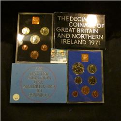 1971 AND 1978 PROOF BRITISH AND NORTHERN IRELAND PROOF SETS
