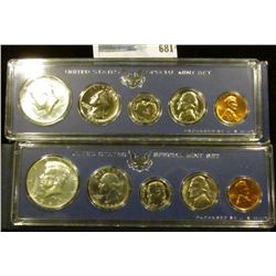 TWO 1966 SPECIAL MINT SETS