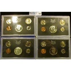 1968, 1969, 1970, AND 1972 PROOF SETS