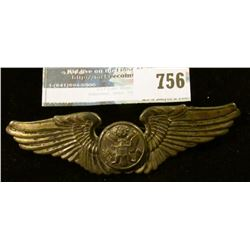 STERLING SILVER AIR FORCE PILOT'S WINGS
