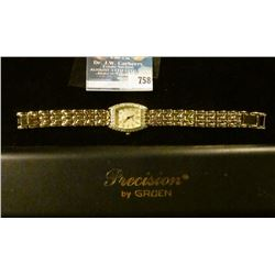 PRECISION WOMEN'S WATCH BY GRUEN