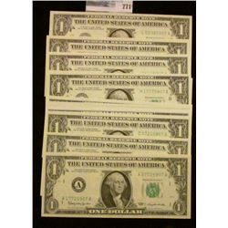 SERIES OF 1963 FED SET-  EACH NOTES ENDS ON 07.  THERE IS A NOTE FROM EACH OF ALL 12 FEDERAL RESERVE