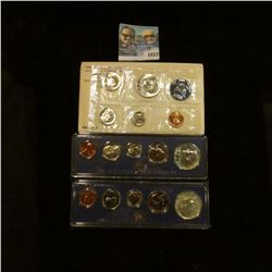 1033 _ 1965, 1966, & 1967 U.S. Special Mint Sets in original holders as issued by the U.S. Mint. Inc
