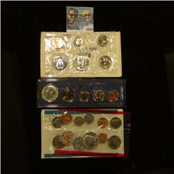 1034 _ 1965, 1967 U.S. Special Mint Sets, & 1968 Silver Mint Set in original holders as issued by th