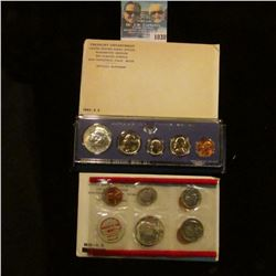 1038 _ 1965, 1967 U.S. Special Mint Sets, & 1969 Silver Mint Set in original holders as issued by th