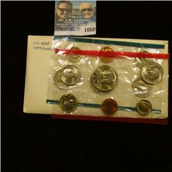 1050 _ 1979 P & D U.S. Mint Set in original government holder as issued. With Susan B. Anthony Dolla