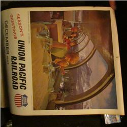 1149 _ 1968 Union Pacific Railroad Road of the Domeliners Calendar.