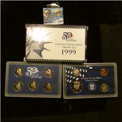 1169 _ 1999 S U.S. Proof Set, original as issued including Quarter set.