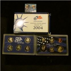 1174 _ 2004 S U.S. Proof Set, original as issued including Quarter set.