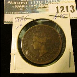 1213 _ 1886 Canada Large Cent.