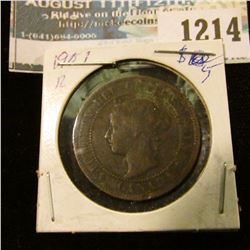 1214 _ 1901 Canada Large Cent.
