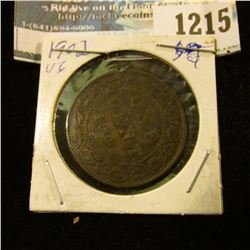 1215 _ 1902 Canada Large Cent.