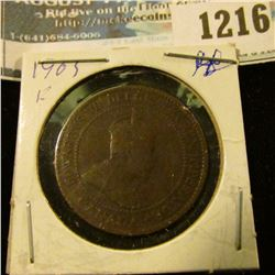 1216 _ 1903 Canada Large Cent.