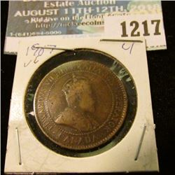 1217 _ 1907 Canada Large Cent.