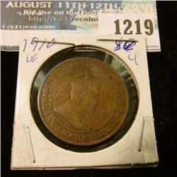 1219 _ 1910 Canada Large Cent.