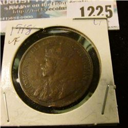 1225 _ 1918 Canada Large Cent.