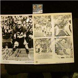 1263 _ (2) Autographed Photo's Randy Gradishar of the Denver Broncos and Jack Reynolds of the San Fr